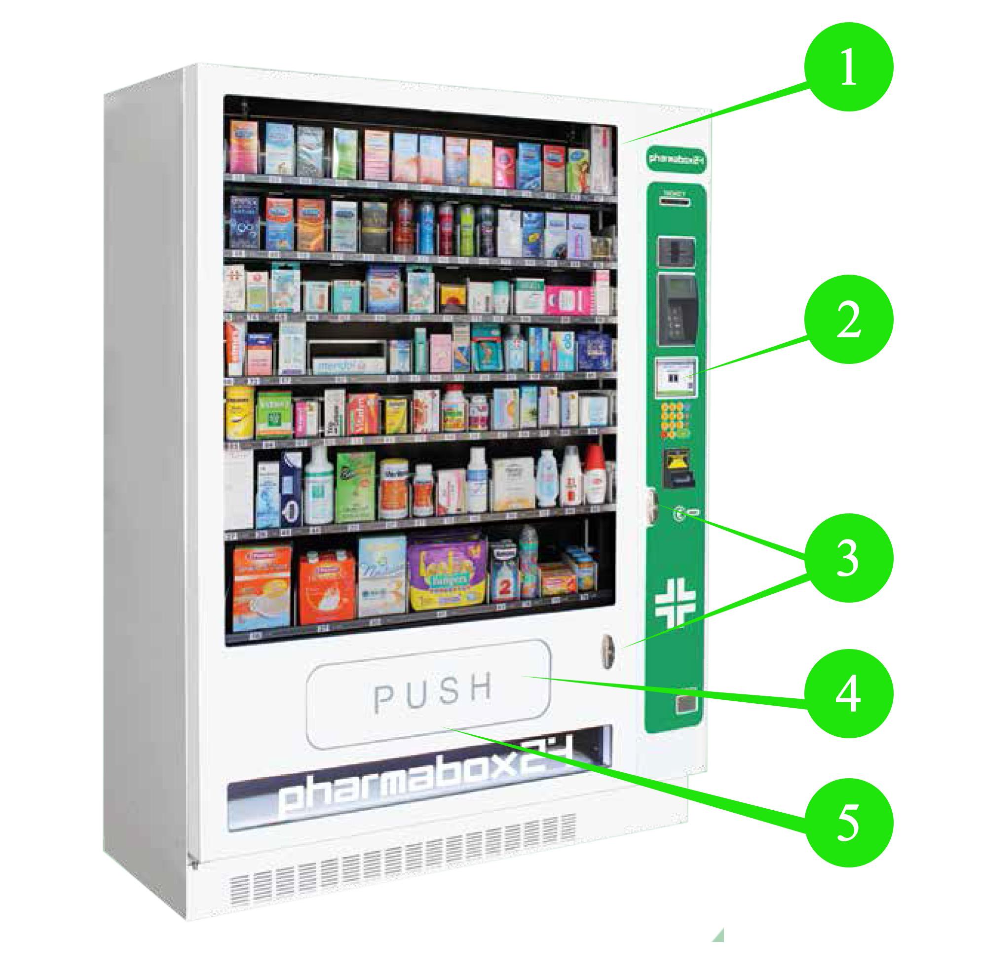 Distributore automatico farmaci su ricetta