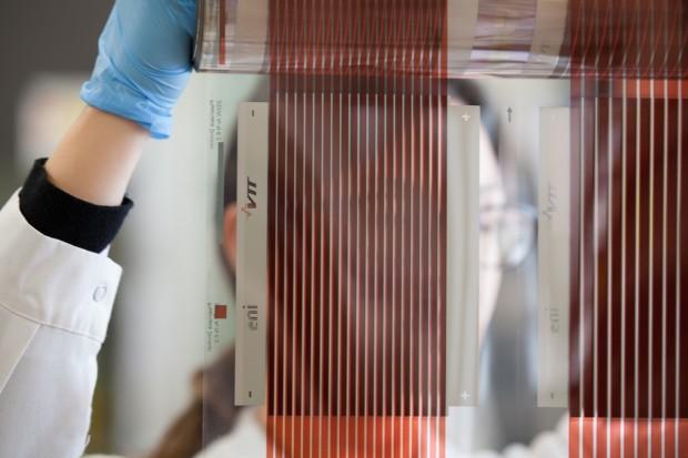 Fotovoltaico organico tra celle stampabili e impianti gonfiabili