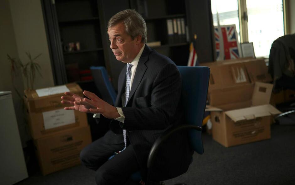 brexit 2020 Nigel Farage