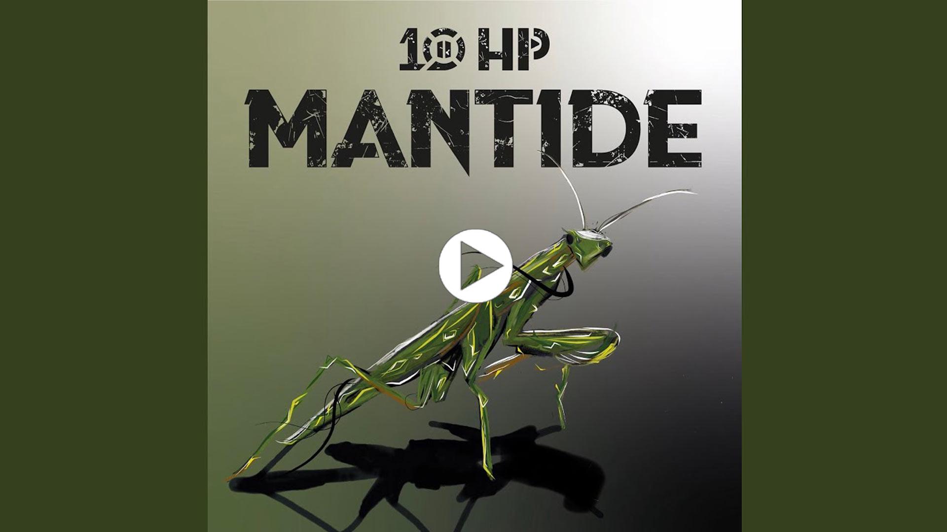 """10HP Album """"Mantide"""""""