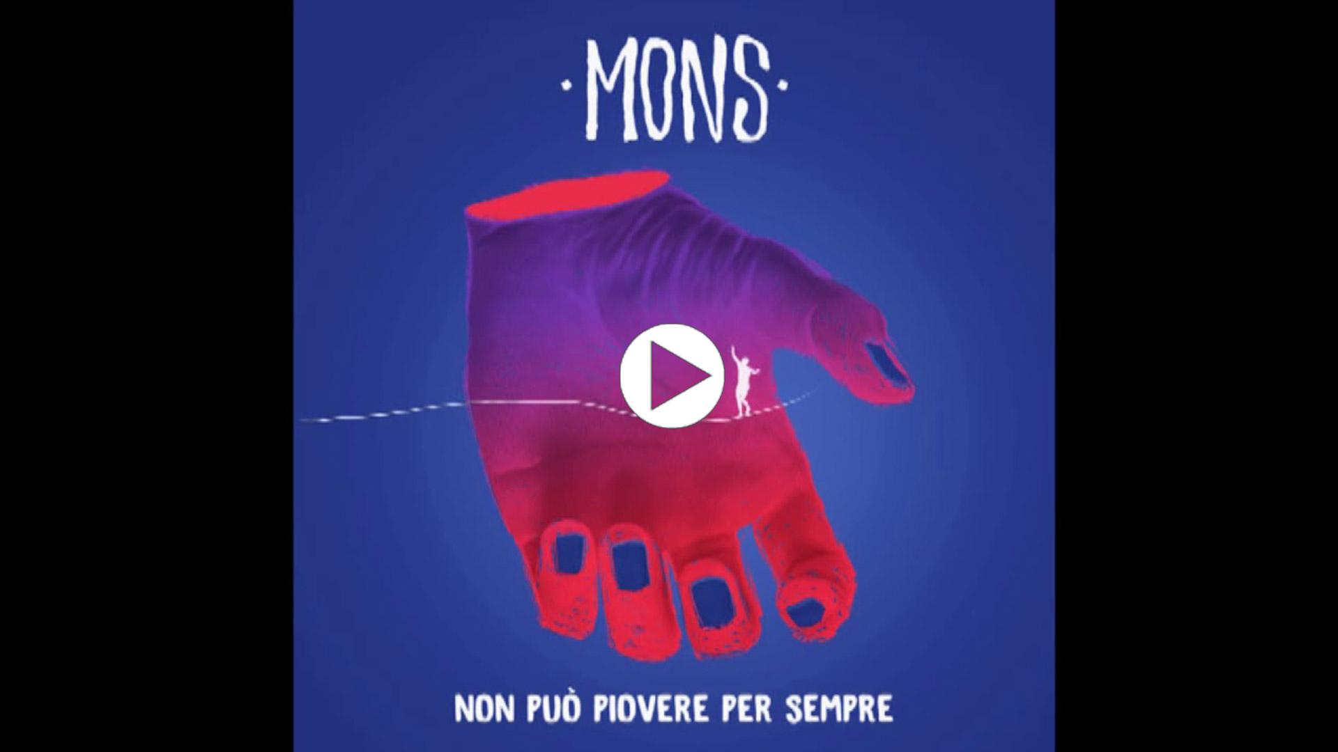 MONS Quattro quart - Official Audio - Non può piovere per sempre