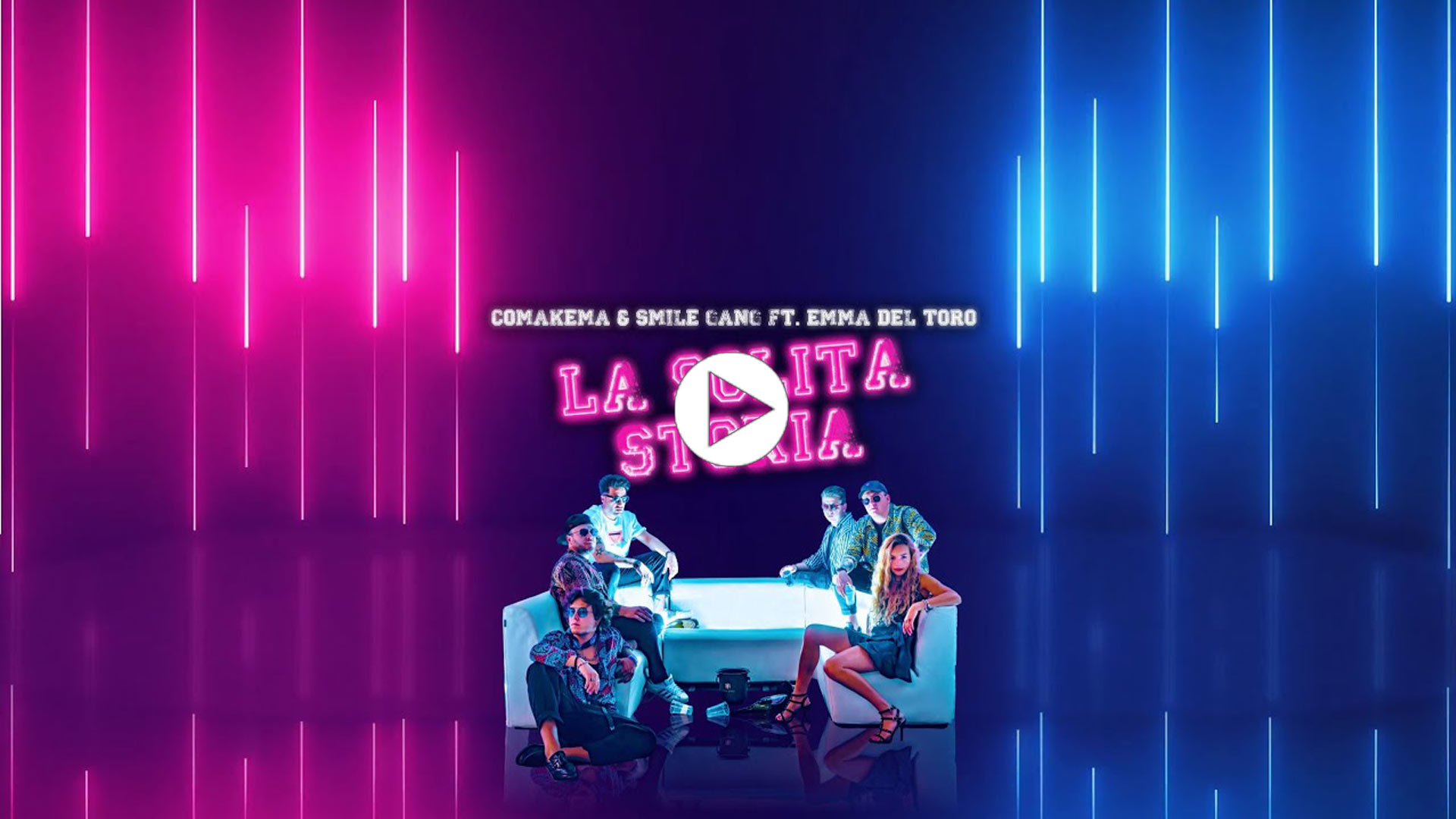 Comakema&Smile Gang - La Solita Storia (feat. Emma Del Toro) (Official Video)